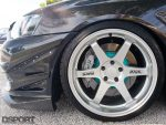 Project Mu brakes for Edwin's EVO X MR