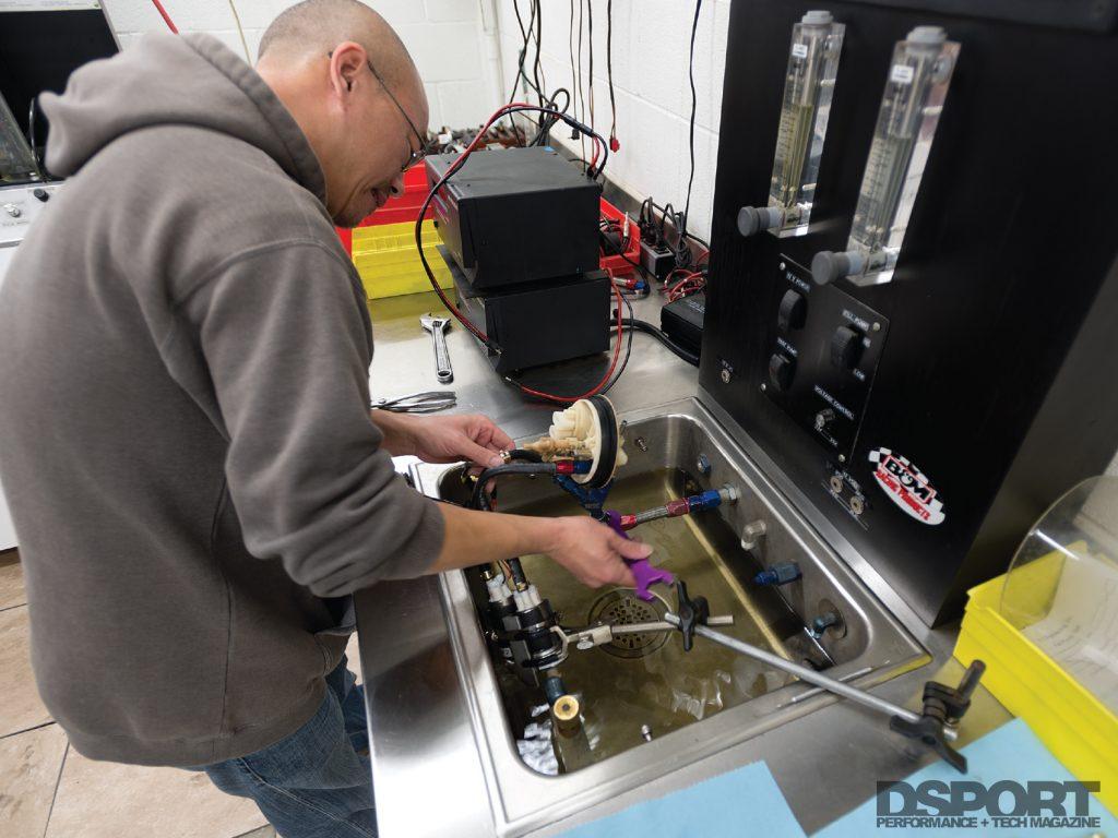 Testing E85 Fuel Pumps