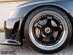 SSR wheels on the Forced Fed EVO IX