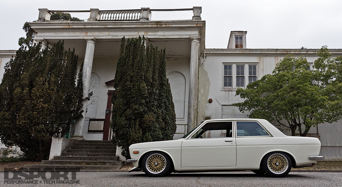 A Restomod Datsun 510 for the Road | Aged for Perfection