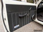 Door panel for Datsun 510 with a SR20 swap