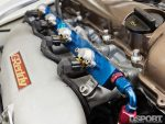Fuel rail for the Datsun 510 with a SR20 swap