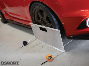Using Toe plates for Alignment Tech
