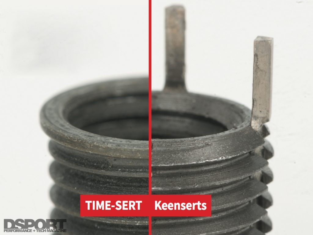 Time Sert vs Keensert