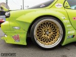 SSR Wheels on the RE Miyoshi Mazda RX7