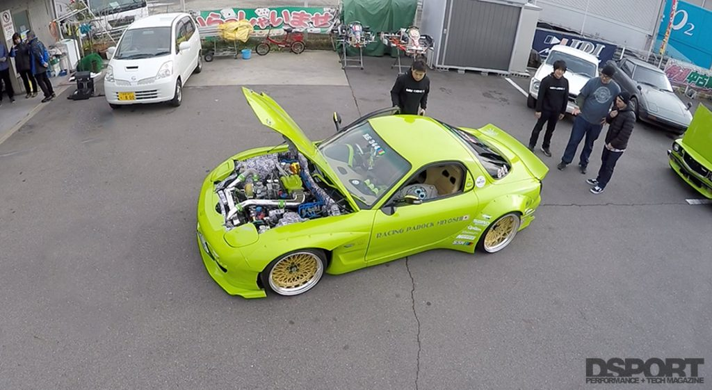 RE Miyoshi Aerial of RX7