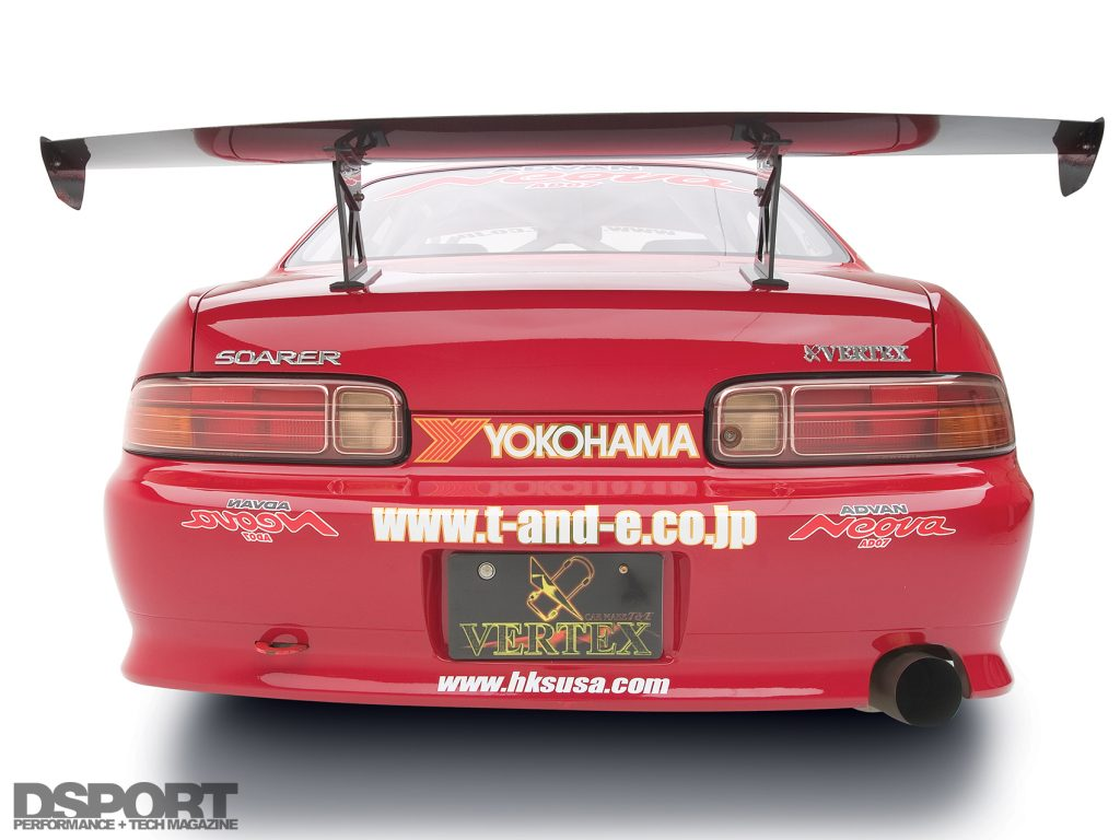 Back of Ueno's D1 1JZ Toyota Soarer