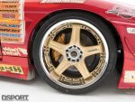 Volk Racing wheels in Ueno's D1 1JZ Toyota Soarer