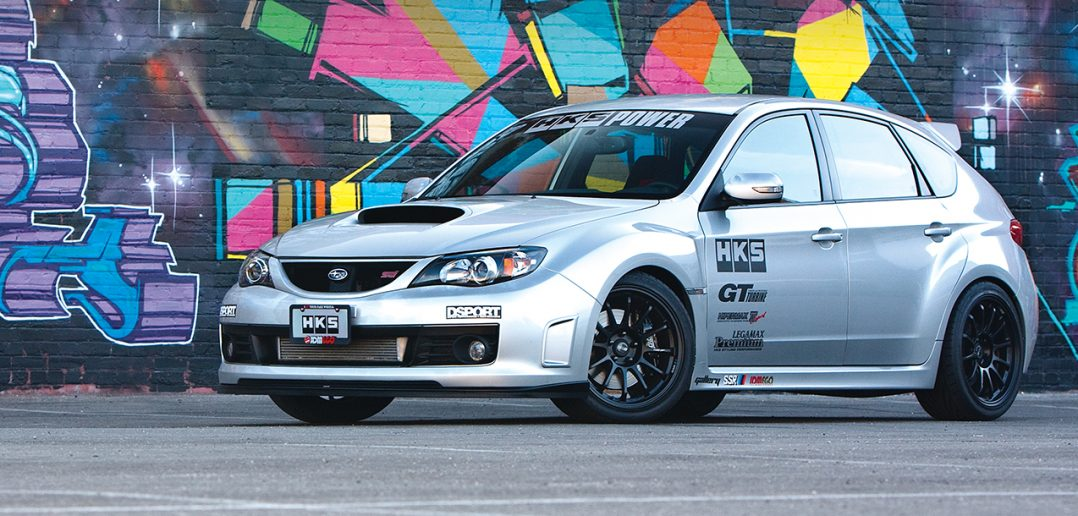 HKS equipped Subaru STI