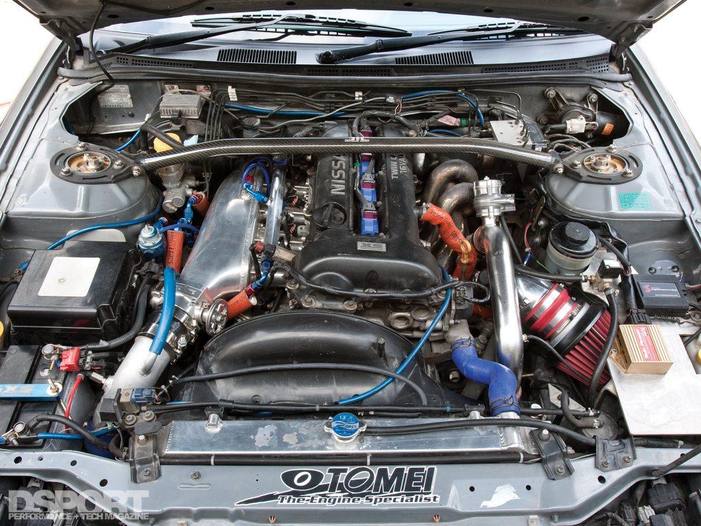 SR20DET in the Silvia S15