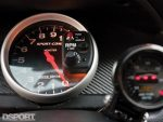 Autometer gauges in the 8 second EVO VIII