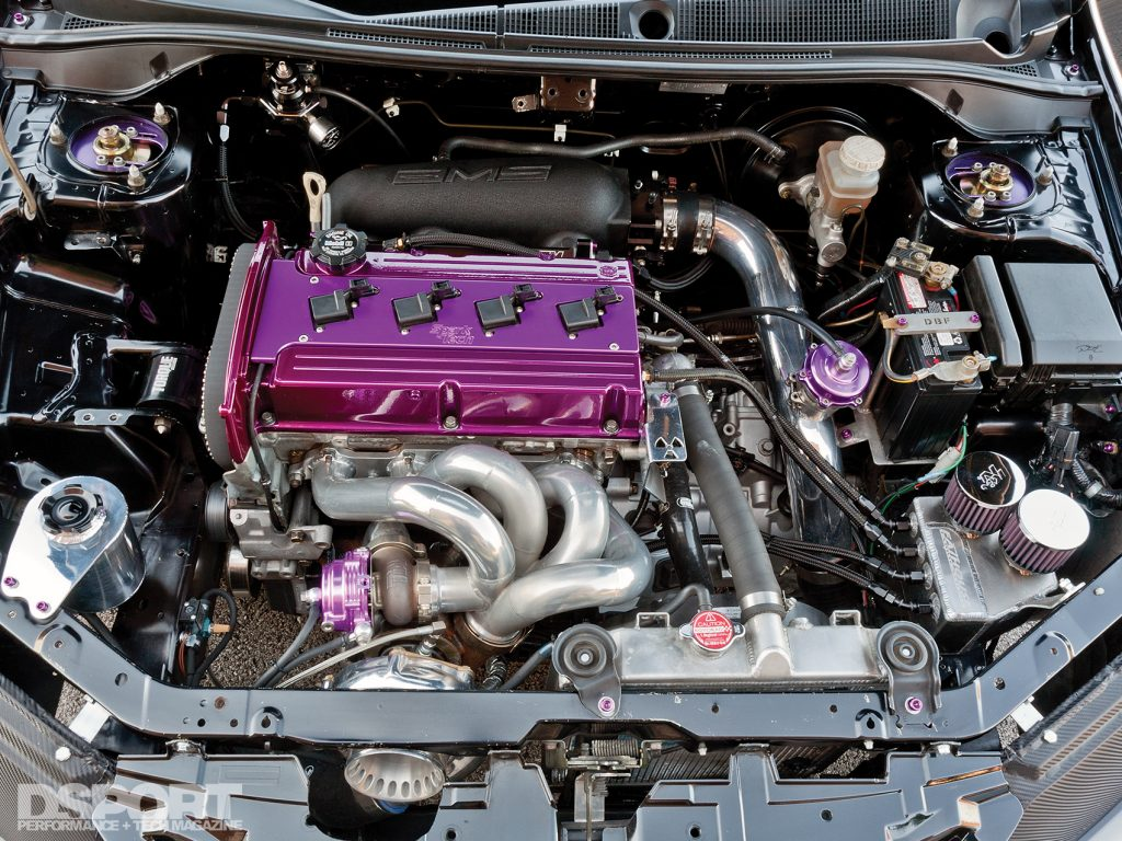 4G63 for the 8 second EVO VIII