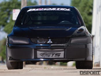 Front of the 8 second EVO VIII