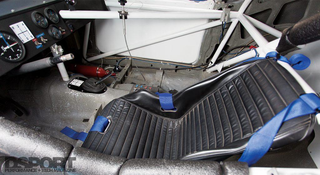 Interior of Paul Newman's Datsun 200SX