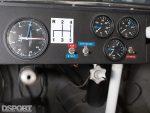 Gauges in Paul Newman's Datsun 200SX