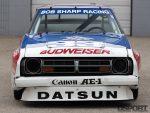 Front of Paul Newman's Datsun 200SX