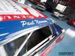 Name graphic on Paul Newman's Datsun 200SX