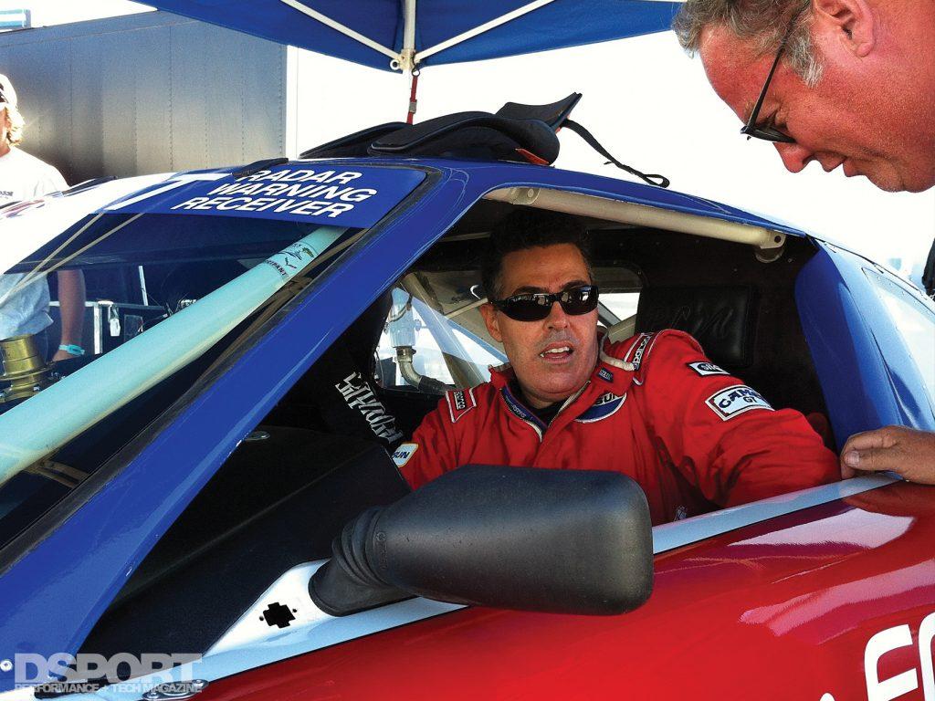 Adam Corolla racing Paul Newman's Datsun 200SX