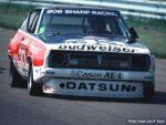 Paul Newman's Datsun 200SX on track