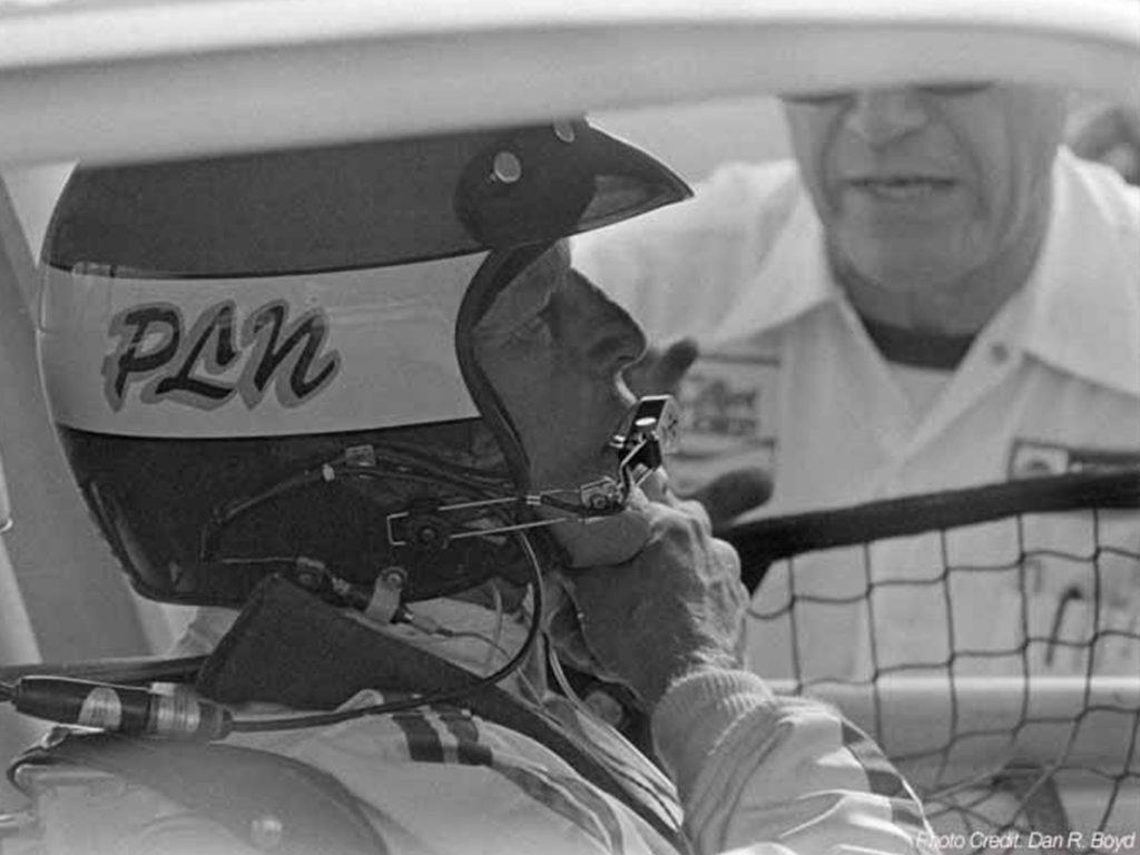 Paul Newman racing his Datsun 200SX