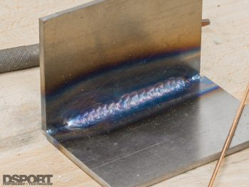 Example of a Weld