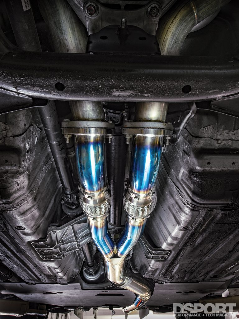 Downpipe for the JMS R35 GT-R