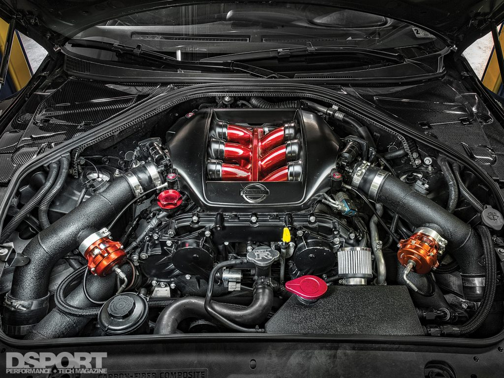 VR38 engine for the JMS R35 GT-R
