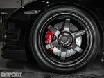 Brembo brakes on the JMS R35 GT-R