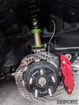 Brakes and suspension for the Magnus built EVO X