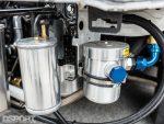 Ancillary fluid containment for the Magnus built EVO X
