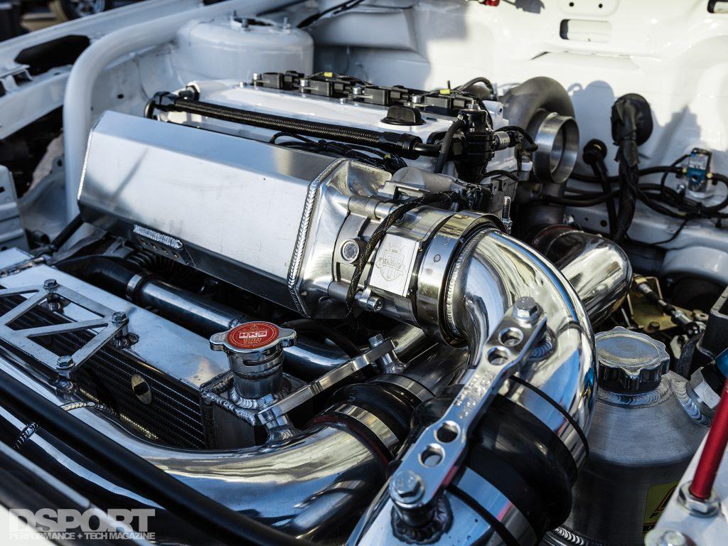 4B11T in the Magnus built EVO X