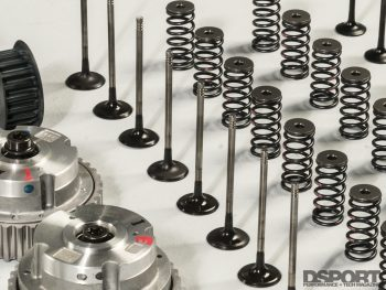 Valves and springs for the ECOBOOST 1.6L
