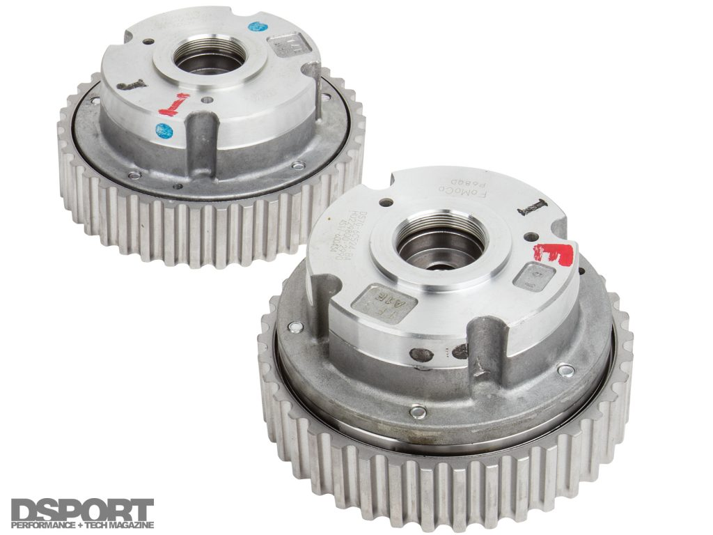 Cam gears for the ECOBOOST 1.6L