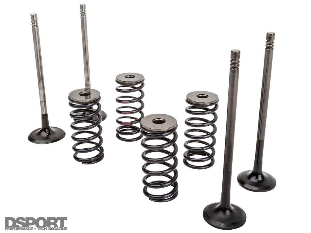 Valvetrain parts for the ECOBOOST 1.6L