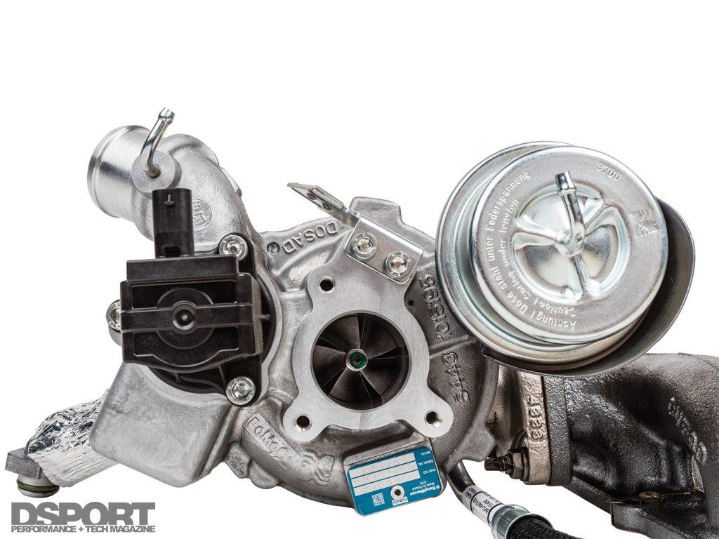Borgwarner turbo for the ECOBOOST 1.6L