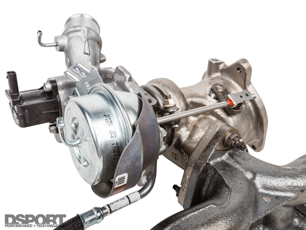 Boost solenoid for the ECOBOOST 1.6L