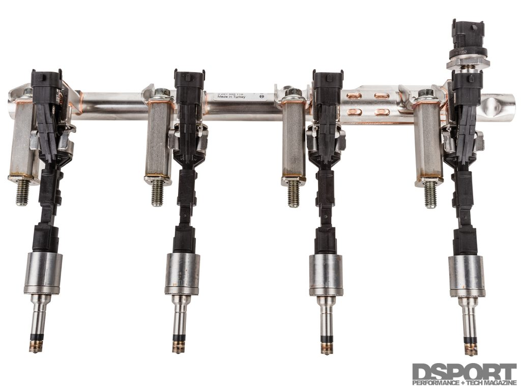 Fuel rail for the ECOBOOST 1.6L