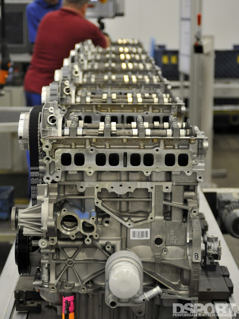 ECOBOOST 1.6L on the assembly line