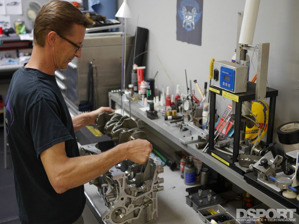 ECOBOOST 1.6L being built in Club DSPORT by Magnus Ohlaker
