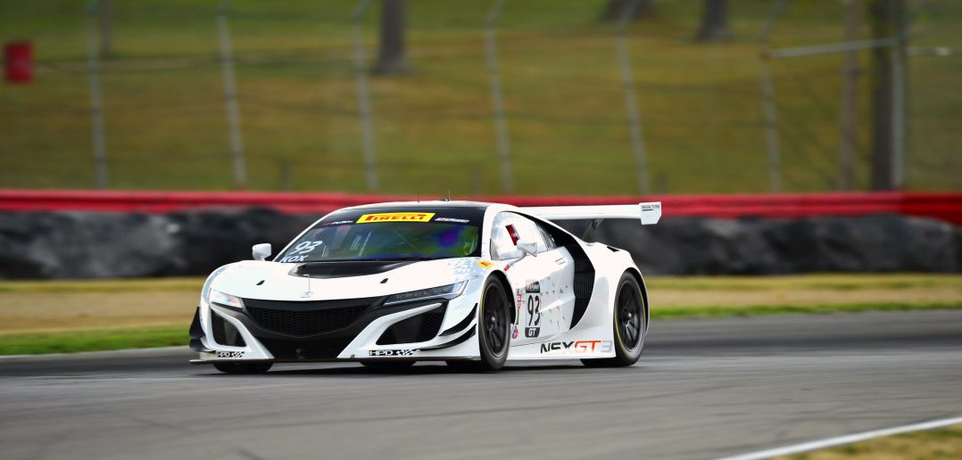 acura nsx gt3 test Jul 28 Mid-Ohio Sports Car Course