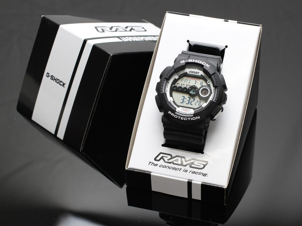 Rays Wheels G-Shock Giveaway