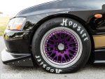 CCW wheels on Bruzewski's EVO VII