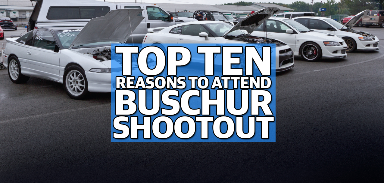 Top Ten Reasons to Attend the 24th Annual IDRC Buschur Racing