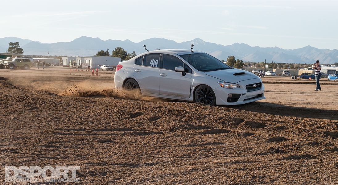 Testing The Wrx Rally Build