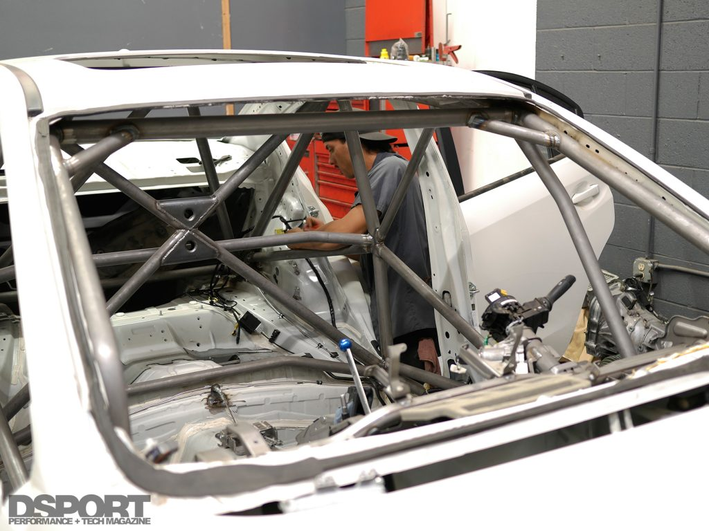 Roll bar for WRX Rally Build