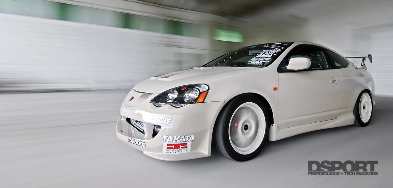 Turbocharged 567 WHP RHD Acura RSX