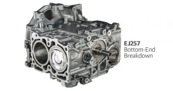EJ257 Bottom End Breakdown