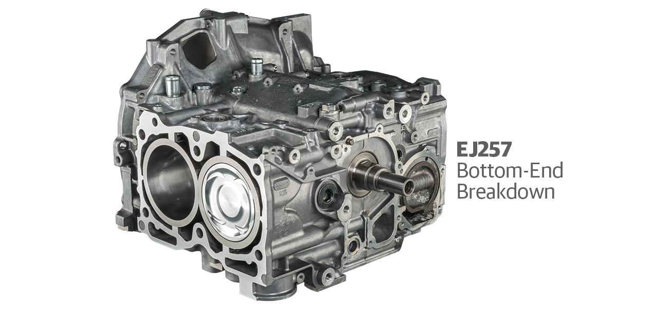 Subaru EJ257 Bottom-End Breakdown - DSPORT