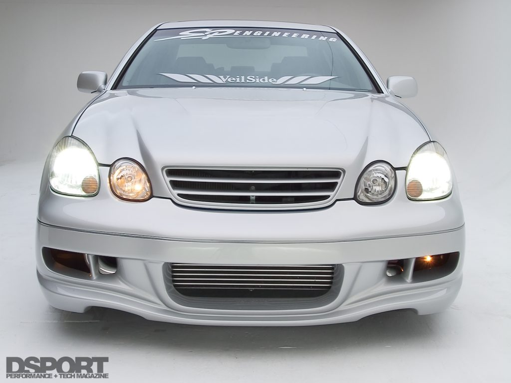 Front of the Twin-Turbo 2JZ Lexus GS400 Daily Driver