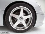 Veilside wheels for the Twin-Turbo 2JZ Lexus GS400 Daily Driver